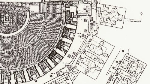 Survey of Roman Theatre and surrounding Islamic citadel