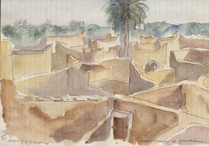 The roofscape of Ghadames 1