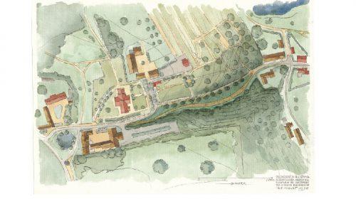 Korttegning af kulturmiljøet omkring Hulvejen I Søllerød